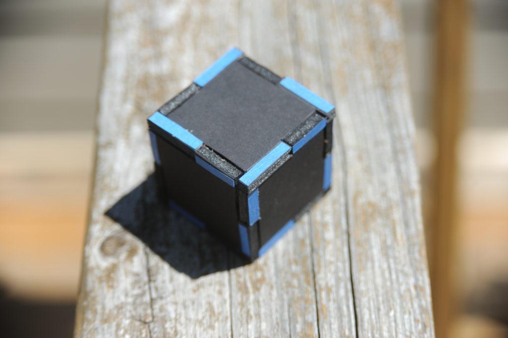 foam core interlocking panel box